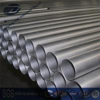 China Titanium Pipe ASTM B861 Grade 9 Seamless Titanium Pipes Price on sale