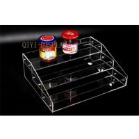 Acrylic cosmetics display box showing stand rack candy collection box holder rack A216 Manufactures