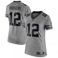 Buy cheap Nike Aaron Rodgers Green Bay Packers Women's Gray Gridiron Gray Limited Jersey from wholesalers