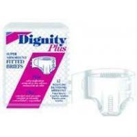 Buy cheap Dignity Plus Adult Fitted Brief, Extra Large, 8/Pack from wholesalers