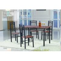 Wholesale 2016 restaurant or home furniture - iron frame dining table and chairs factory supply from china suppliers