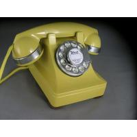 Wholesale 302 - Yellow - Chrome Trim Antique Phones from china suppliers
