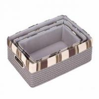 Wholesale Neutral Nesting Baskets from china suppliers