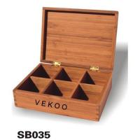Buy cheap Bamboo Storage Boxes product