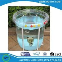 Buy cheap Transparent inflatable baby pool from wholesalers