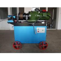 Buy cheap Manual High Quality Parallel Thread Rebar Thread Cutting Machine from wholesalers