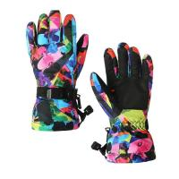 Buy cheap Warmest Ski Gloves Supplier Waterproof Snow Gloves for Mens Women Skiing Gloves SG06 from wholesalers