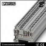 Wholesale 2.5(4) mm2,28A,ST 2.5 3L spring cage connection three level terminal block for Phoenix from china suppliers