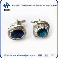 Wholesale Classic Square Electroplating Paint Carved Men's Shirt Diamond Cufflinks from china suppliers
