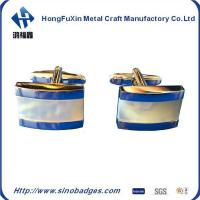 Wholesale 925 Sterling Silver Natural Gem Stone Blue Sapphire Cufflink Men,S Jewelery from china suppliers