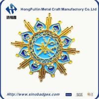Wholesale Sun Rising Carved Badge Diastruck Processed from china suppliers