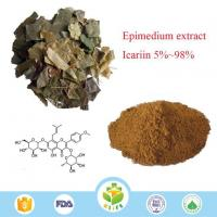 Buy cheap High Quality and Competitive Price Epimedium Extract Powder Icariin 5%-98% HPLC Male Sex Improvement from wholesalers