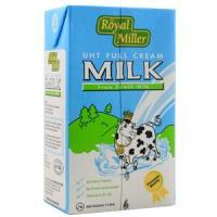 Beverages UHT Full Cream Milk (U) - Royal Miller 12x1ltr Manufactures