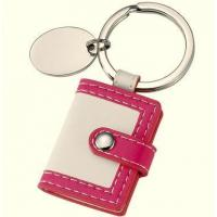 Buy cheap Personalized Leather Photo Frame Keyrings Photo Keychains Bulk CK-024 from wholesalers