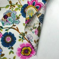 China 100% Cotton Printed Shirt Fabric Reactive Pigment Printing Suit Woven Twill/plain Fabric on sale