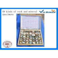 Buy cheap Specimen 49 kinds of rock and mineral specimens from wholesalers