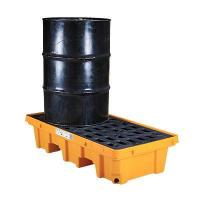 Buy cheap Oil containment drum spill control pallets from wholesalers