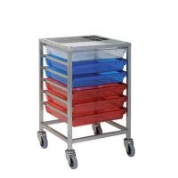 Storage Trolleys Stainless Steel Trolley with 6 Trays Manufactures