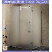 Buy cheap Shower Screen/Door/Enclosure/Room/ Frosted/Acid Etched/Sandblast/Tempered/Toughened Glass from wholesalers