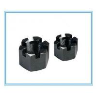 Buy cheap Grade 8.8 Hexagon Slotted Nut/ Castle Nut with Black from wholesalers
