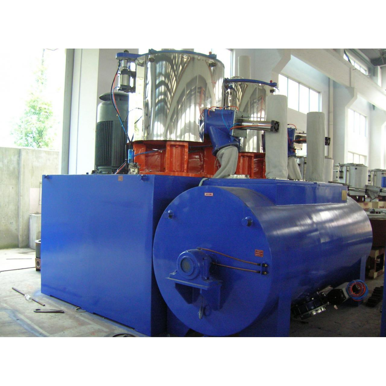 Pipe Extrusion Equipment Mixer Uint