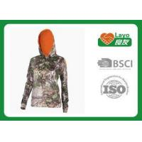 Buy cheap Customized Style Camo Hoodie Sweatshirt Long Sleeve Anti - Pilling from wholesalers