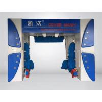 Dark blue frame 7 brush cover roll-over car wash machine Manufactures