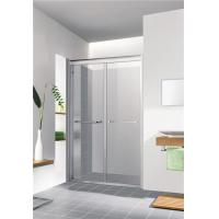 Buy cheap Safety Glass Left to Right Adjustable Breadth Walk in Shower Doors Competitive Price from wholesalers