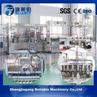 Buy cheap High Speed Fully Automatic PET Bottle Fruit Pulp Juice Filling Machine from wholesalers
