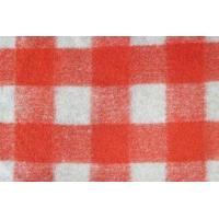 Buy cheap Polyester Acrylic Wool Blended Fabric , Yarn Dyed Wool Tartan Curtain Fabric from wholesalers