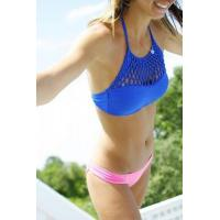 Buy cheap Big Sale Crochet Halter Bikini Mix Match Swimsuit from wholesalers