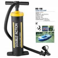 Buy cheap HS-116 double action hand air pump for inflatable air bed and boat from wholesalers