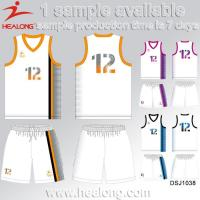 Buy cheap College Cheap Reversible Sublimation Womens Basketball Uniform Jersey Design from wholesalers