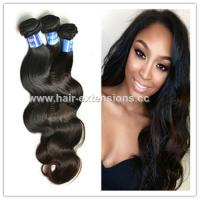Buy cheap High quality 100% hand tied virgin hair weft real hair extensions from wholesalers