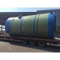 Buy cheap Integral prefabricated pumping station from wholesalers