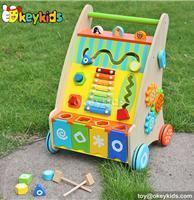 Buy cheap Wholesale cheap wooden walker baby push toys W16E018 from wholesalers