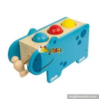 Buy cheap Most popular preschool pound bench toy wooden educational toys for toddlers W11G033 from wholesalers