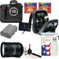 Buy cheap Nikon D300 SLR Digital Camera [Body Only] + Nikon 18-200mm AF-S DX VR II Lens + Nikon Multi-Grip Pow from wholesalers