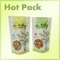 Nutify Chili / Lime Laminated Foil Resealable Stand up Bags With Zipper
