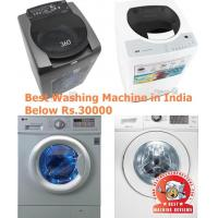 Best Washing Machine in India Below Rs.30000 Manufactures