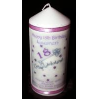 Buy cheap New Items 18th Birthday Key Candle from wholesalers