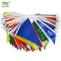 Buy cheap PVC Colorful Pennant Flag Fabric Bunting from wholesalers