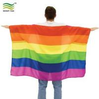 Buy cheap 90*150cm Polyester Pride Body Flag Cape product