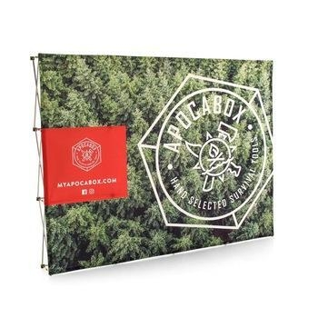 Buy cheap 10ft Portable Straight Single Sided Graphic Pop Up Backdrop from wholesalers