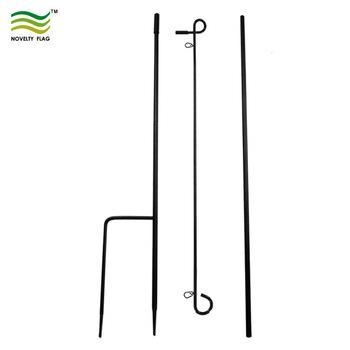 Buy cheap Steel Foldable Outdoor Garden Flagpole from wholesalers