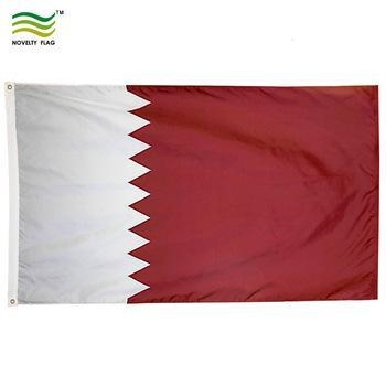 Buy cheap 3x5ft Country Wholesale Cheap Qatar National Flag from wholesalers