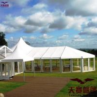 Buy cheap big prefabricated (aircraft)hangar canvas tent from factory Guangzhou from wholesalers