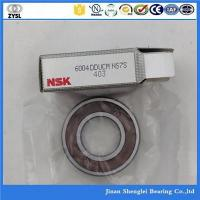 Buy cheap NSK brand 20*42*12mm deep groove ball bearing 6004DDUCM from wholesalers