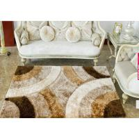 Buy cheap SHAGGY RUG 1200D Polyester silk patterned shaggy carpet from wholesalers
