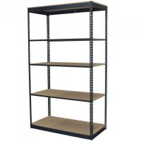Buy cheap 84 in. H x 48 in. W x 24 in. D 5-Shelf Steel Boltless Shelving Unit with Low Profile Shelves from wholesalers